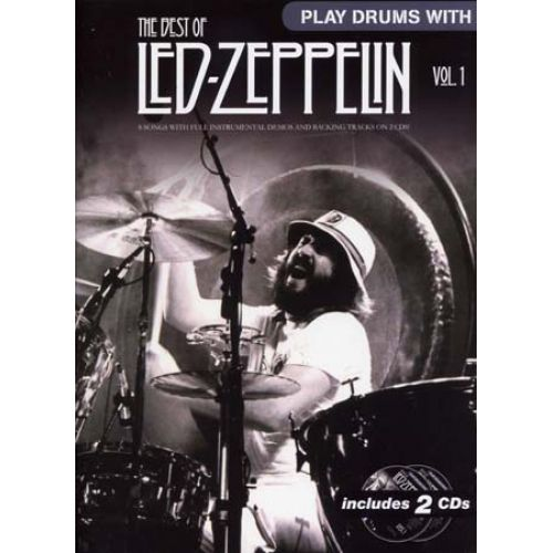 WISE PUBLICATIONS LED ZEPPELIN - PLAY DRUMS WITH - BEST OF VOL.1 + 2 CD