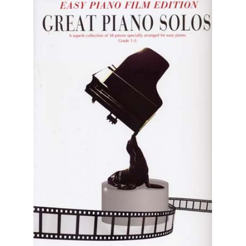WISE PUBLICATIONS GREAT PIANO SOLOS EASY PIANO FILM EDITION