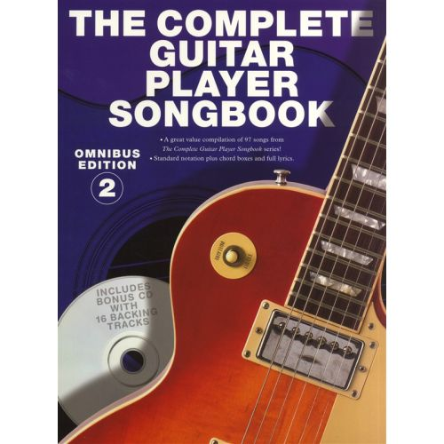 WISE PUBLICATIONS THE COMPLETE GUITAR PLAYER SONGBOOK OMNIBUS EDITION BOOK 2 MLC BOOK/ - MELODY LINE, LYRICS AND CHORD