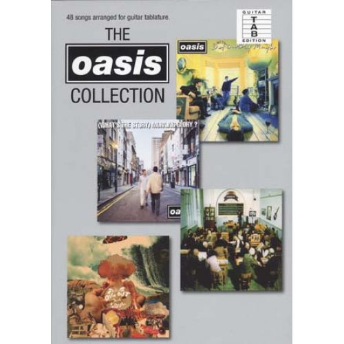 WISE PUBLICATIONS OASIS - COLLECTION - GUITARE TAB