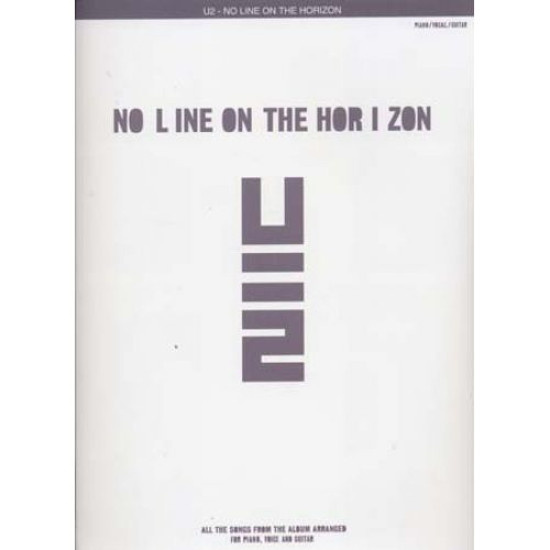 WISE PUBLICATIONS U2 - NO LINE ON THE HORIZON - PVG