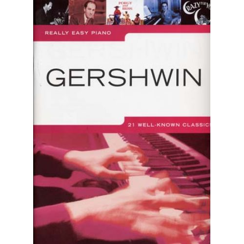 WISE PUBLICATIONS GERSHWIN GEORGE - REALLY EASY PIANO