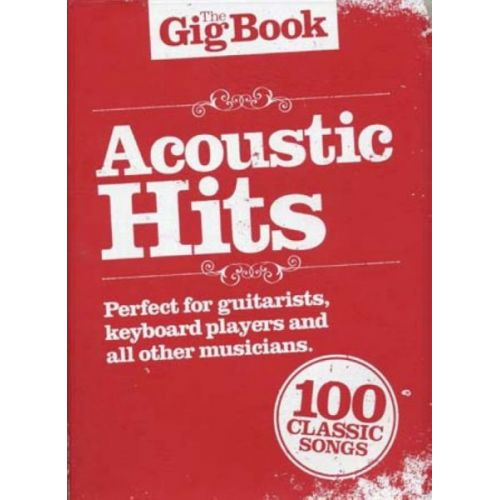 WISE PUBLICATIONS THE GIG ACOUSTIC HITS
