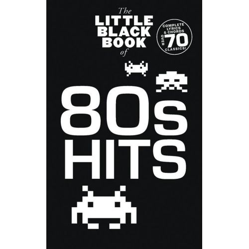WISE PUBLICATIONS LITTLE BLACK BOOK 80'S HITS
