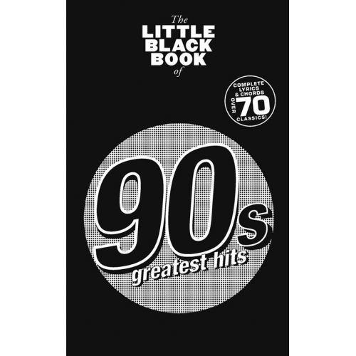 WISE PUBLICATIONS LITTLE BLACK BOOK 90'S GREATEST HITS