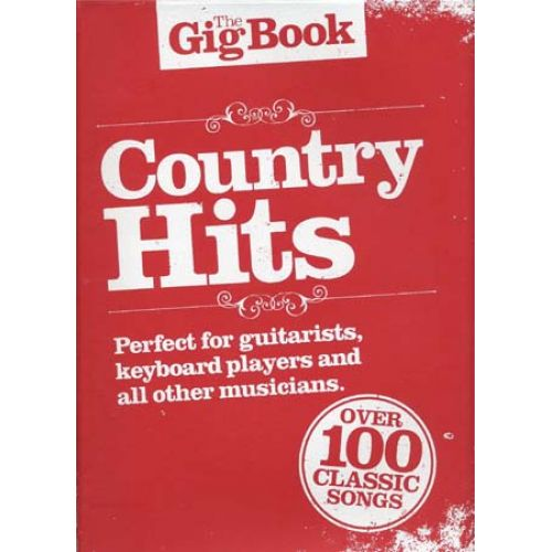WISE PUBLICATIONS GIG BOOK COUNTRY HITS