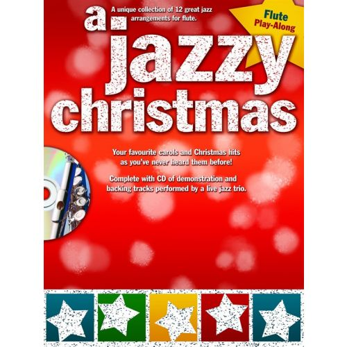 WISE PUBLICATIONS A JAZZY CHRISTMAS FLUTE - FLUTE