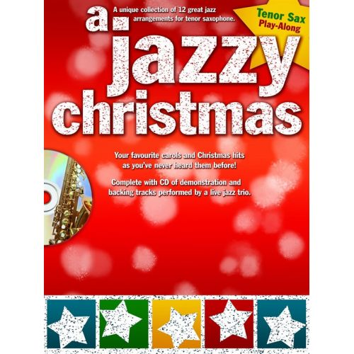 WISE PUBLICATIONS A JAZZY CHRISTMAS + CD - TENOR SAXOPHONE