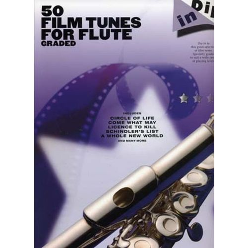 WISE PUBLICATIONS DIP IN 50 FILM TUNES FOR GRADED FLUTE
