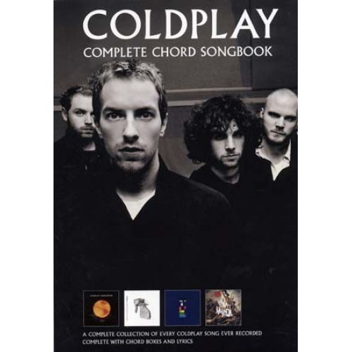WISE PUBLICATIONS COLDPLAY - COMPLETE CHORD SONGBOOK