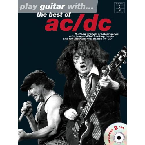 WISE PUBLICATIONS AC/DC - BEST OF PLAY GUITAR WITH - GUITARE TAB