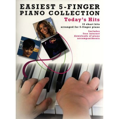 WISE PUBLICATIONS EASIEST 5-FINGER PIANO COLLECTION TODAY'S HITS