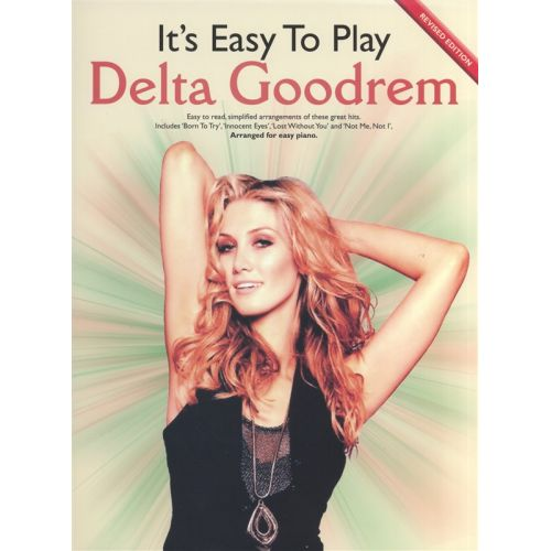 WISE PUBLICATIONS IT'S EASY TO PLAY DELTA GOODREM - PIANO SOLO