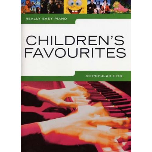 WISE PUBLICATIONS CHILDREN'S FAVOURITES - REALLY EASY PIANO