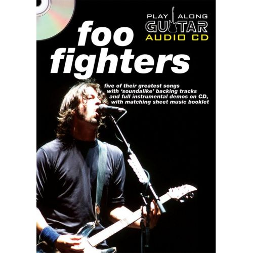 WISE PUBLICATIONS PLAY ALONG GUITAR AUDIO CD : FOO FIGHTERS - GUITARE TAB