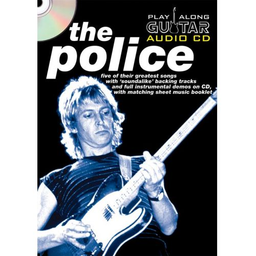 WISE PUBLICATIONS PLAY ALONG GUITAR AUDIO CD : THE POLICE