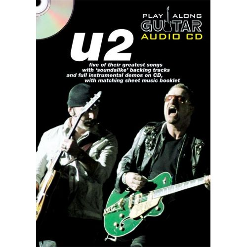 WISE PUBLICATIONS PLAY ALONG GUITAR AUDIO CD : U2 - GUITARE TAB