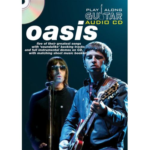 WISE PUBLICATIONS PLAY ALONG GUITAR AUDIO CD : OASIS