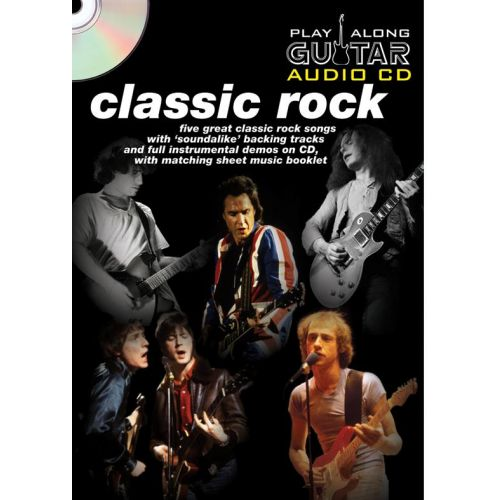 WISE PUBLICATIONS PLAY ALONG GUITAR AUDIO CD : CLASSIC ROCK