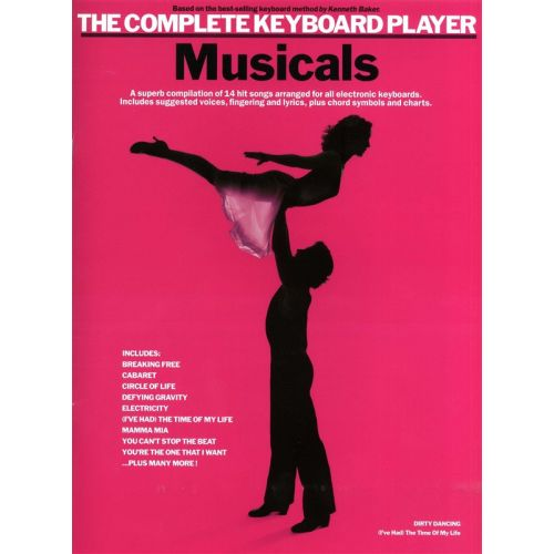 WISE PUBLICATIONS COMPLETE KEYBOARD PLAYER MUSICALS - KEYBOARD