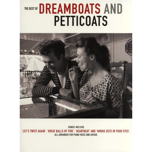WISE PUBLICATIONS DREAMBOATS AND PETTICOATS THE BEST OF - PVG