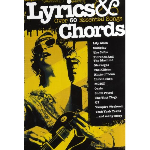 WISE PUBLICATIONS LYRICS AND CHORDS SONGBOOK WITH OVER 60 ESSENTIAL SONGS - LYRICS AND CHORDS