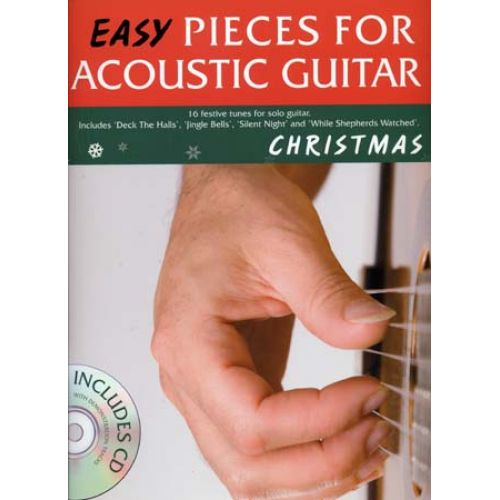 WISE PUBLICATIONS EASY PIECES FOR ACOUSTIC GUITAR CHRISTMAS + CD