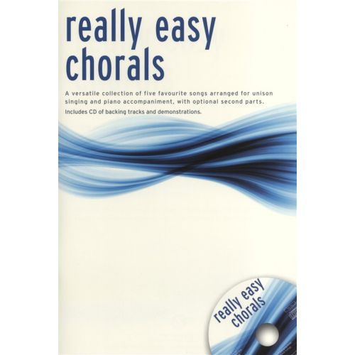 WISE PUBLICATIONS REALLY EASY CHORALS + CD - 2-PART CHOIR
