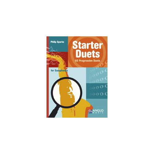 ANGLO MUSIC SPARKE PHILIP - STARTER DUETS FOR SAXOPHONES