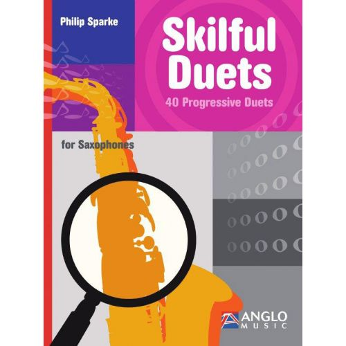 ANGLO MUSIC SPARKE PHILIP - SKILFUL DUETS FOR SAXOPHONES