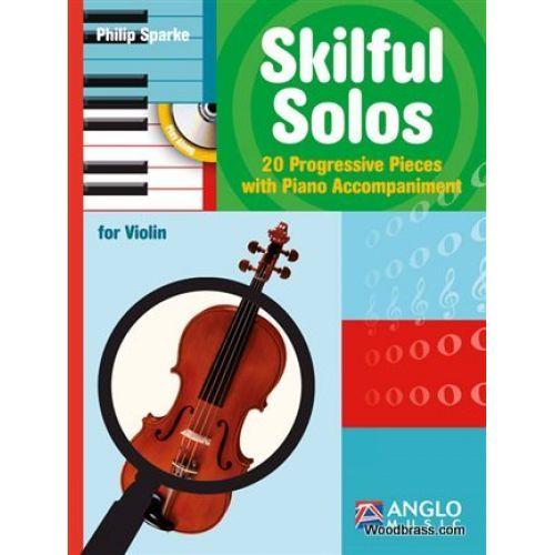 ANGLO MUSIC SKILFUL SOLOS - VIOLON & PIANO