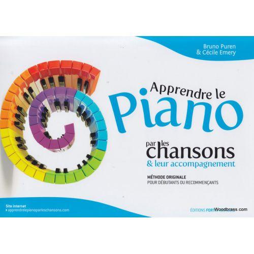 ARMIANE PUREN B., EMERY C. - APPRENDRE LE PIANO PAR LES CHANSONS
