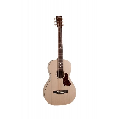ART & LUTHERIE A&L ROADHOUSE FADED CREAM - A/E - PARLOR WITH GIGBAG