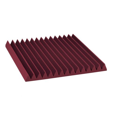 AURALEX ACOUSTICS STUDIOFOAM WEDGE BURGUNDY (SET OF 12)