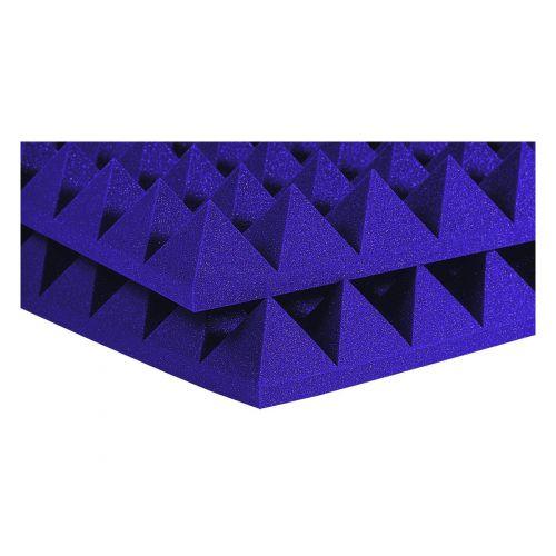 AURALEX ACOUSTICS STUDIOFOAM PYRAMID PURPLE 60,96CM X 60,96CM X 10,16CM SET DE 6
