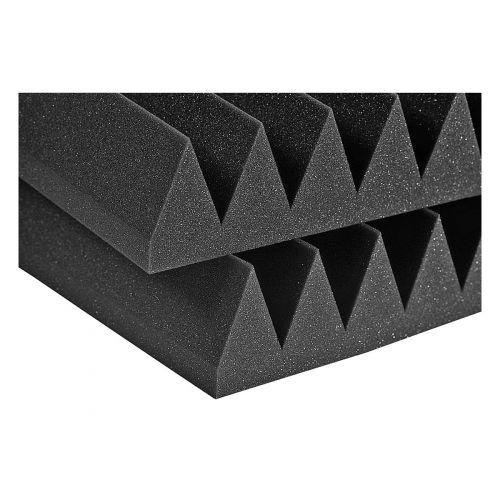 AURALEX ACOUSTICS STUDIOFOAM WEDGE CHARCOAL 60,96CM X 60,96CM X 10,16CM