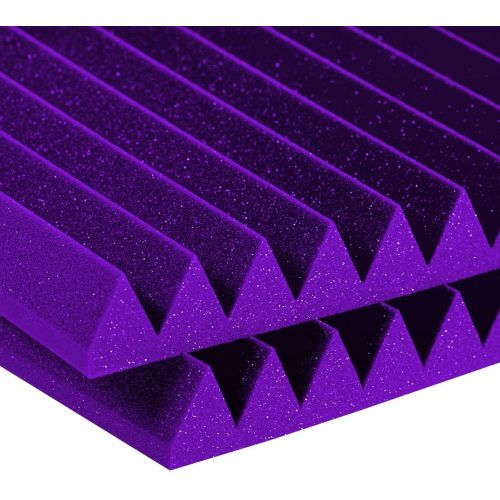 AURALEX ACOUSTICS STUDIOFOAM WEDGE PURPLE (SET OF 6)