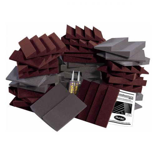 AURALEX ACOUSTICS D36 ROOMINATOR KIT BURGUNDY