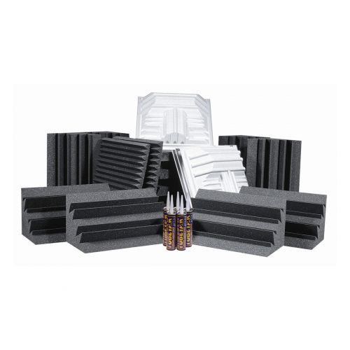 AURALEX ACOUSTICS DELUXE PLUS ROOMINATOR KIT CHARCOAL