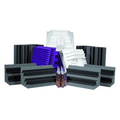 AURALEX ACOUSTICS DELUXE PLUS ROOMINATOR KIT PURPLE