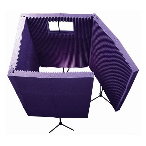 AURALEX ACOUSTICS MAXWALL 1141VB PURPLE RECORDING BOOTH