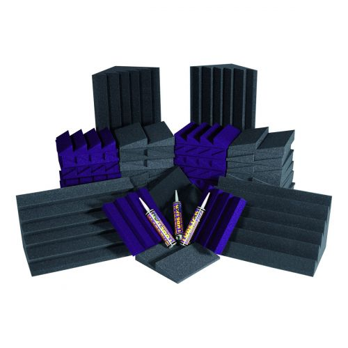 AURALEX ACOUSTICS ALPHA DST ROOMINATOR KIT PURPLE