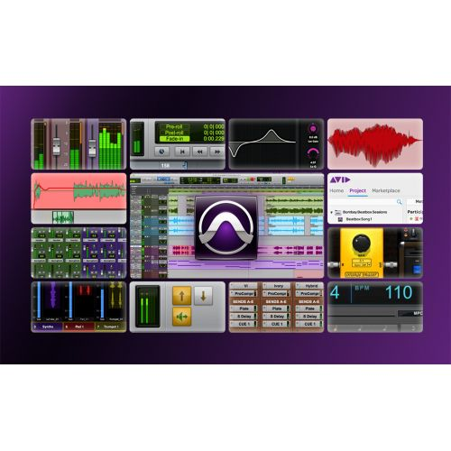 AVID PRO TOOLS HD ANNUAL SUBSCRIPTION SOFTWARE ONLY WITH ILOK