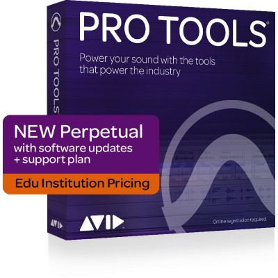 AVID PRO TOOLS PERPETUAL LICENCE NEW INSTITUTION