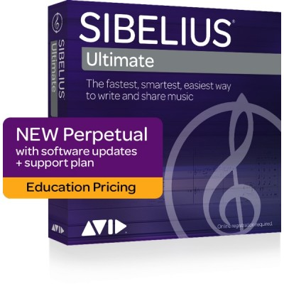 AVID SIBELIUS ULTIMATE LICENCE PERPETUELLE + SUPPORT - EDUC - NEW