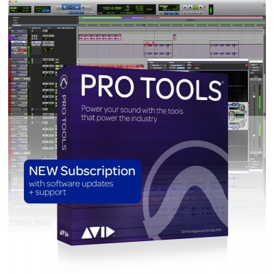 AVID PRO TOOLS SOUSCRIPTION 1 YEAR - ELECTRONIC LICENCE