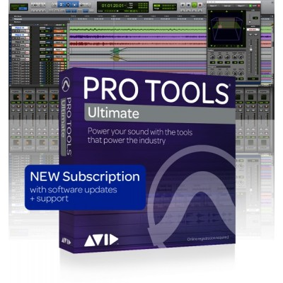 AVID PRO TOOLS ULTIMATE - 1 YEAR SUBSCRIPTION NEW