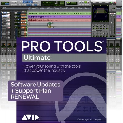 AVID PRO TOOLS ULTIMATE RENEWAL UPDATE ET SUPPORT