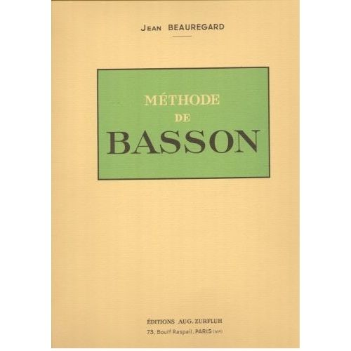 ROBERT MARTIN BEAUREGARD J. - METHODE DE BASSON