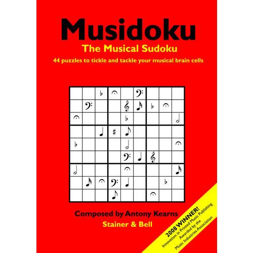 STAINER AND BELL MUSIDOKU OPUS 1 - THE MUSICAL SUDOKU